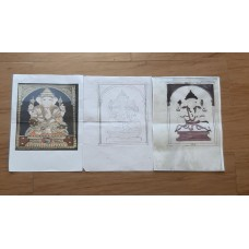 Kit line drawings-Ganesha
