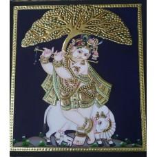 Krishna under the tree-2