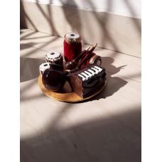 Miniature wooden instrument set