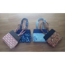 Ikkat small handbags