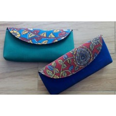 Silk with Kalamkari clutches 2