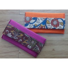 Silk with Kalamkari clutches
