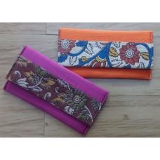 Silk with Kalamkari clutches