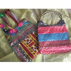 Big sling silk bags