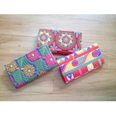 Kutchi worked Zipper pouches