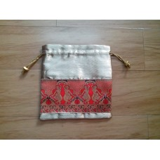 Pouch with Dance border