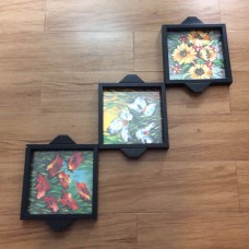 Floral patterned Trays