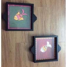 Madhubani Design trays