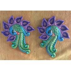 Peacock Diyas
