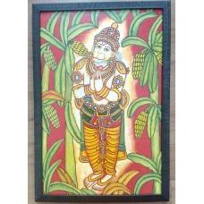 Kerala Mural Hanuman