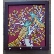 Bird Kerala Mural Keyholder