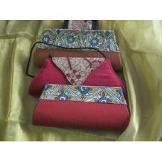 Kalamkari handbags-clutches