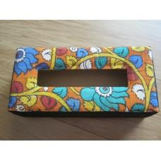 Kalamkari tissue box holder