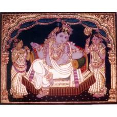 Krishna in Darbar