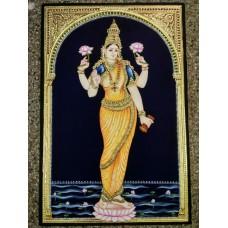 Standing Ravi varma Lakshmi