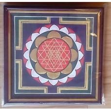 Kolam - Sri Chakram