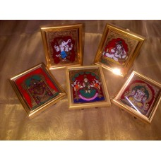 Tanjore glass paintings Assorted Themes 2