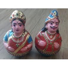Tanjore Round Dolls