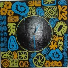 Modern Art Clock