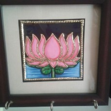Key Holder- Tanjore - Mounted Frame