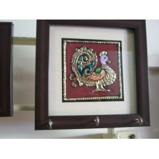 Key Holder- Tanjore - Mounted Frame 3
