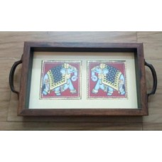 Double Elephant Tray