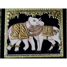 Elephant & Cow