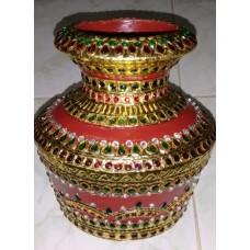 Tanjore Brass Pot