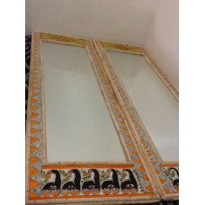 Customized Madhubani Mirror