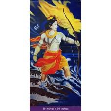 SriRama on Canvas