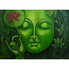 Buddha on Canvas