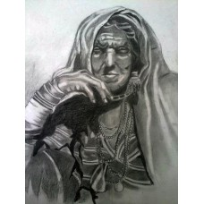 Tribal Old Woman