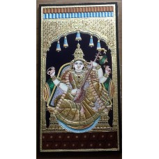 Traditional Tanjore Saraswathi