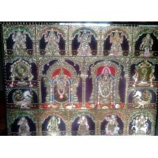 Balaji Thayar with Dasavataram