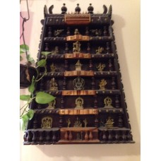 Wood Gopuram Display Unit
