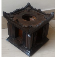 Wood corner stand
